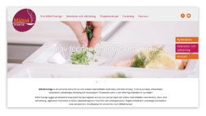 Måltid Sverige websida