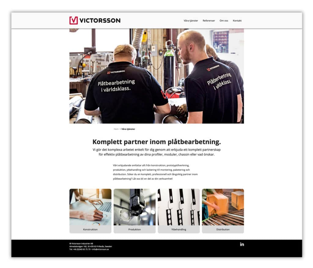 Victorsson web